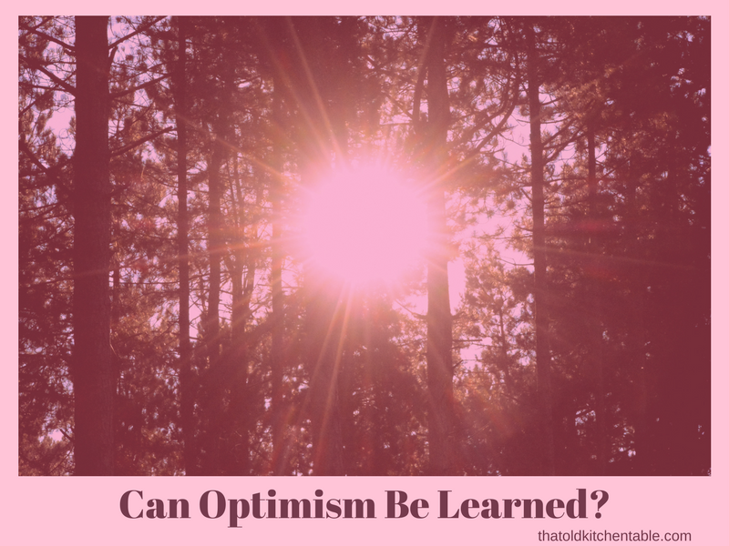 become an optimist