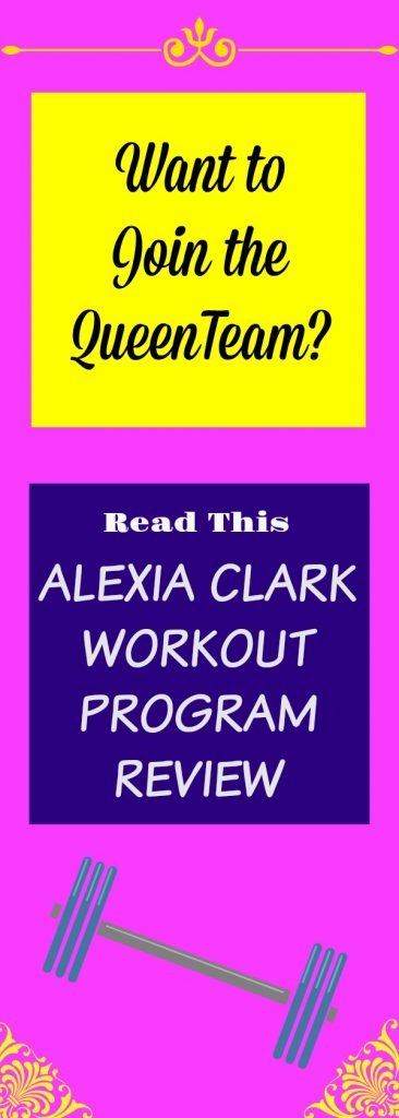 alexia clark workout join queenteam
