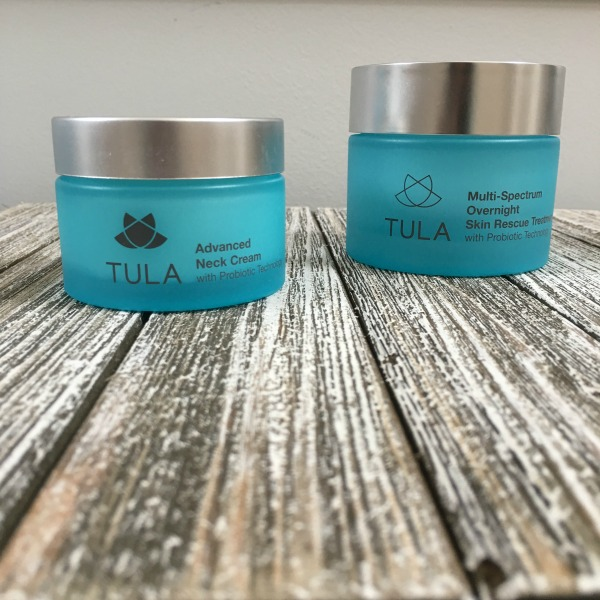 tula neck cream and overnight recovery cream