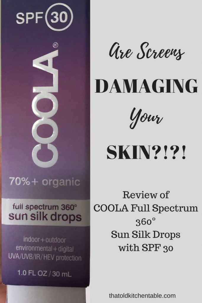 could your screen be damaging your skin with a picture of coola sun silks