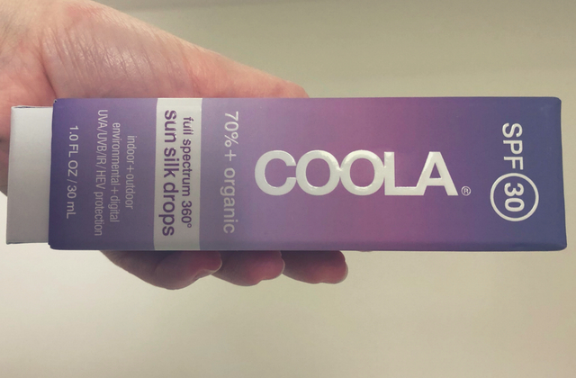 coola sun silk drops review