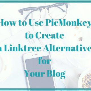 linktree alternative with picmonkey