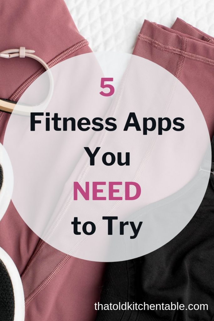5 fitness apps for iphone