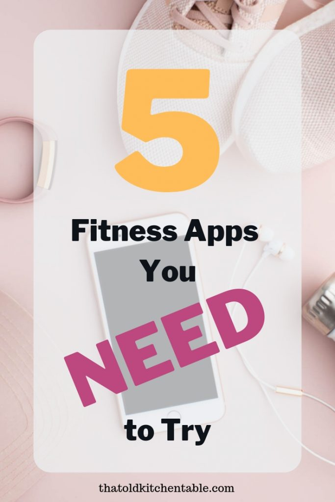 fitness apps for iphone to try